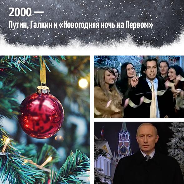 2000— Путин, Галкин и«Новогодняя ночь наПервом»