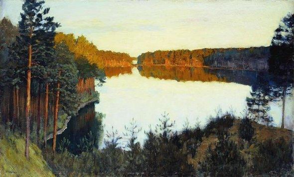 Исаак Левитан. «Лесное озеро».1890-е годы