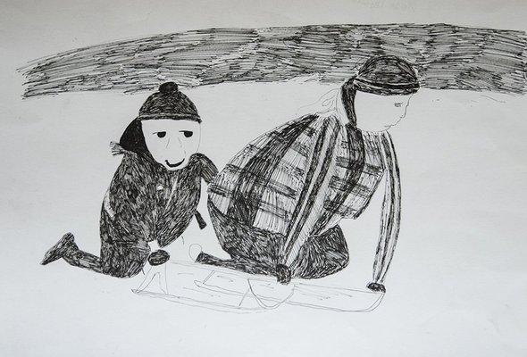 Выставка «Люди должны быть разными». Работа Ивана Грязнова