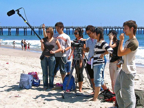 Студенты кинолагеря Калифорнийского университета - Фуллертон