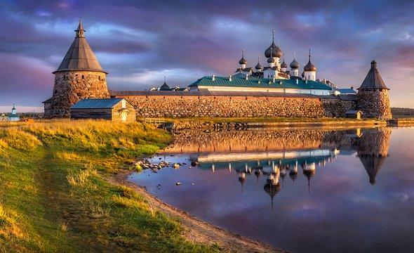 Соловецкий монастырь. Фото: Shutterstock / Baturina Yuliya