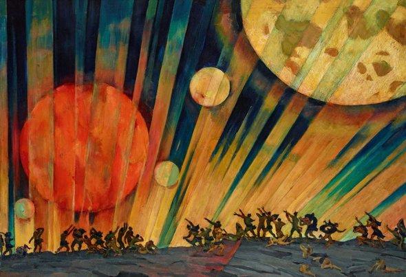 Константин Юон. «Новая планета». 1921 год