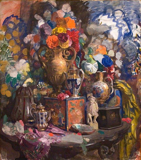Николай Сапунов. «Цветы ифарфор». 1912 год
