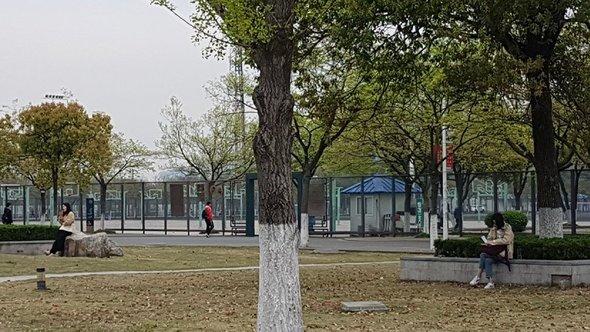 Территория Западного Аньхойского Университета