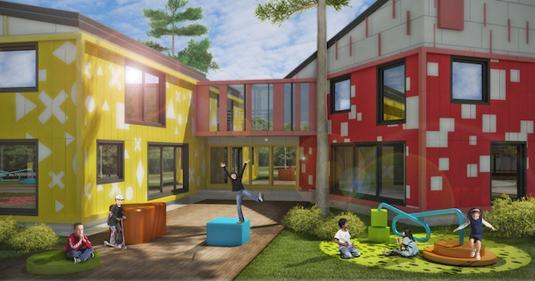 Детский сад как игрушка IND architects