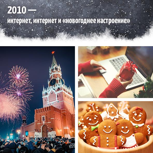 2010-е— интернет, интернет и«новогоднеенастроение»