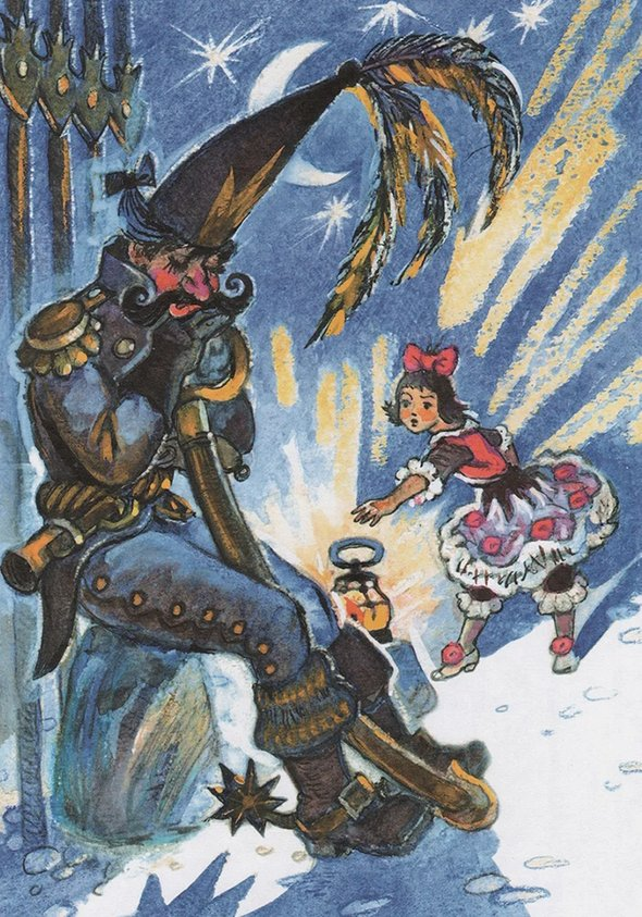 Иллюстрации Леонида Владимирского ксказке Юрия Олеши «Три Толстяка»