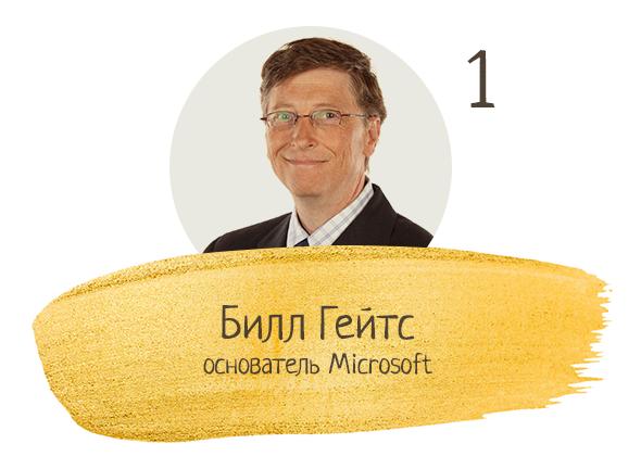 Билл Гейтс, основатель Microsoft
