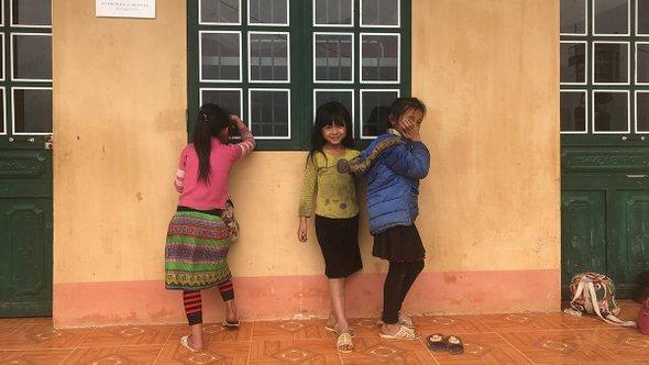 Ученицы младшей школы