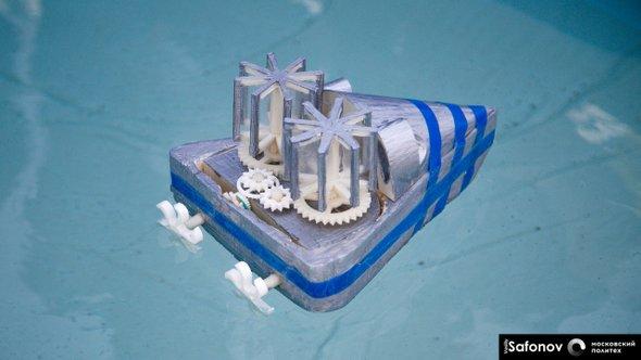 """Концепт беспилотной яхты на """"Инженерных стартах"""""""
