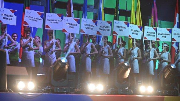 Церемония открытия VII национального чемпионата «Молодые профессионалы» WorldSkills Russia