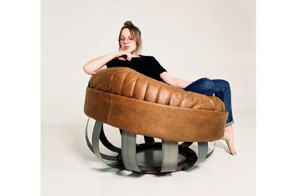 Кресло, спроектированное Александрой Громченко