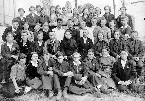 школа в начале 40-х
