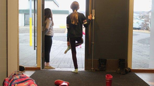 Ученики школы вКверагерди