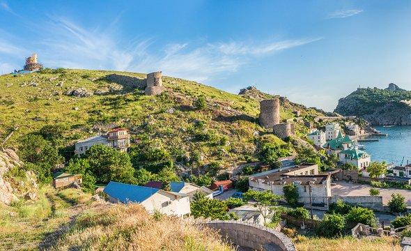 Вид накрепость Чембало вБалаклаве. Фото: Shutterstock / Pelikh Alexey