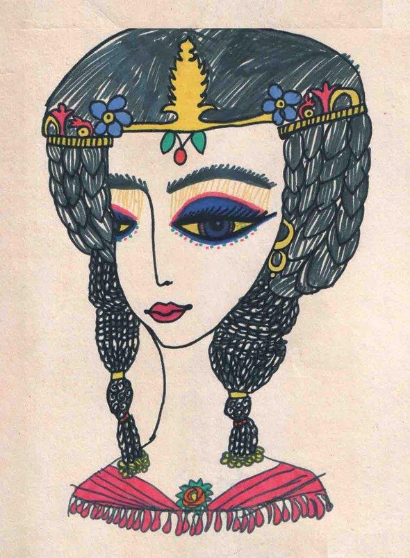 Саша Путря. «Царица Клеопатра» (6 лет)