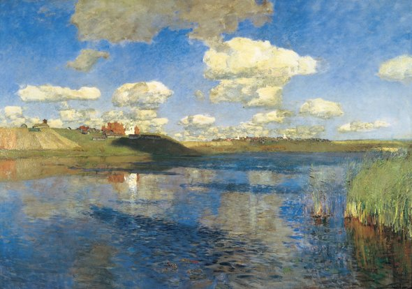 Исаак Левитан. «Озеро». 1899–1900 годы