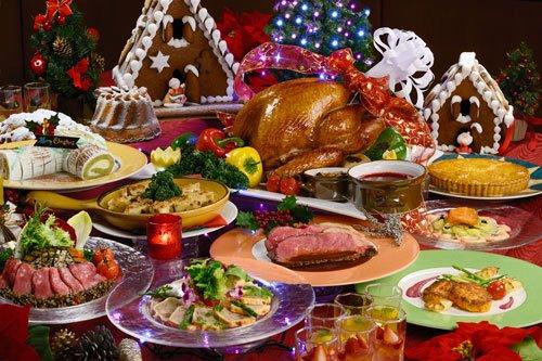 Фото еды на праздничном столе