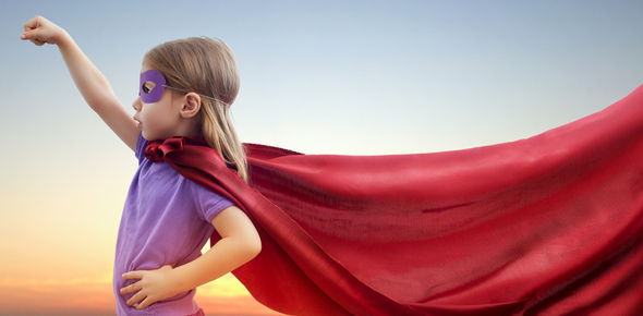 Девочка супер-герой