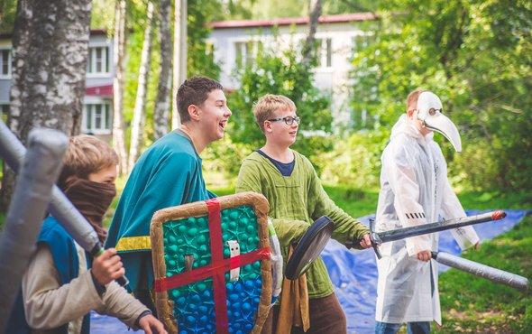 Детский лагерь «Штормград»