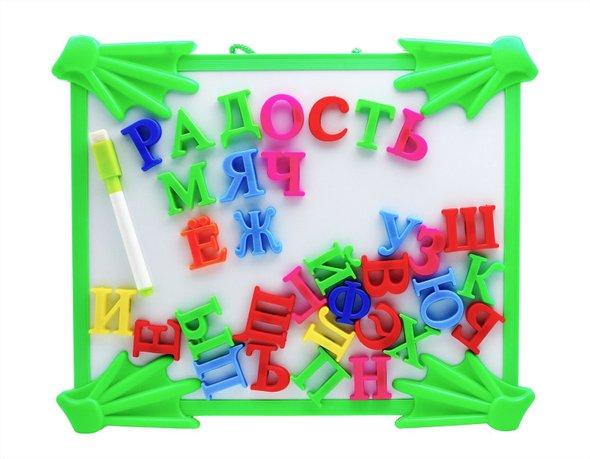Такие буквы позволяют малышу «почувствовать» букву со всех сторон.