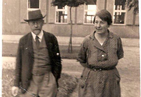 Януш Корчак и Стефания Вильчинская, создатели и сотрудники «Дома сирот». 1938 г. Фото: Korczakianum