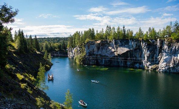 Горный Парк Рускеала. Фото: Shutterstock / liesker