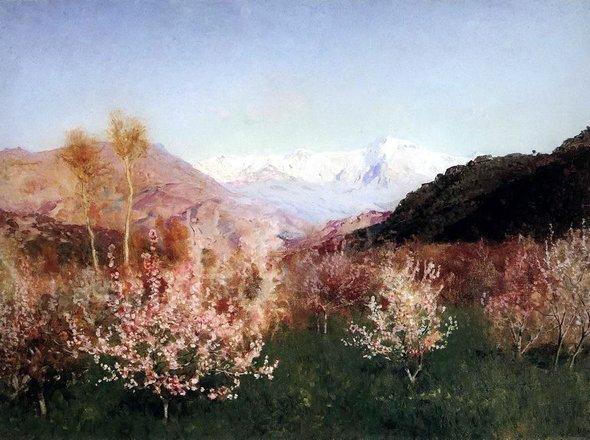 Исаак Левитан. «Весна вИталии». 1890 год