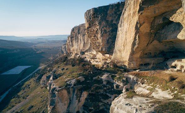 Пещерный монастырь Качи-Кальон. Фото: Shutterstock / Nikolai Denisov