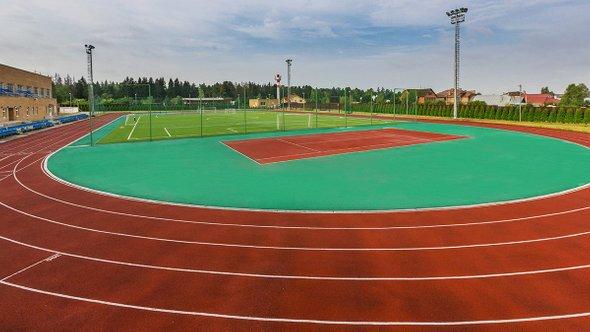 Стадион гимназии