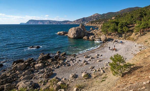 Пляж Инжир. Фото: Shutterstock / Tilpunov Mikhail