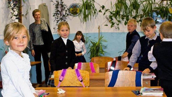 Елена Васильева иученики начальной школы