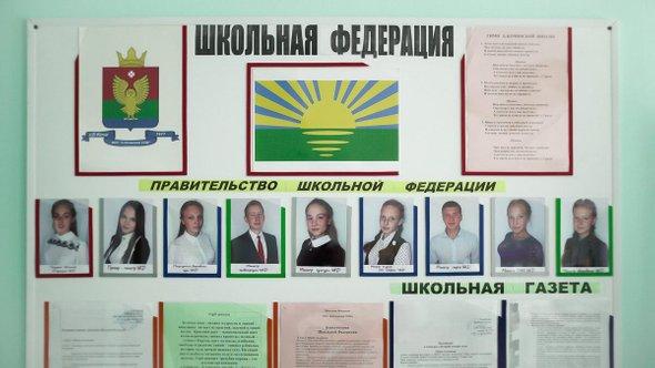 Доска больше-кочинской школьной федерации. Фото: Митя Кувалдин