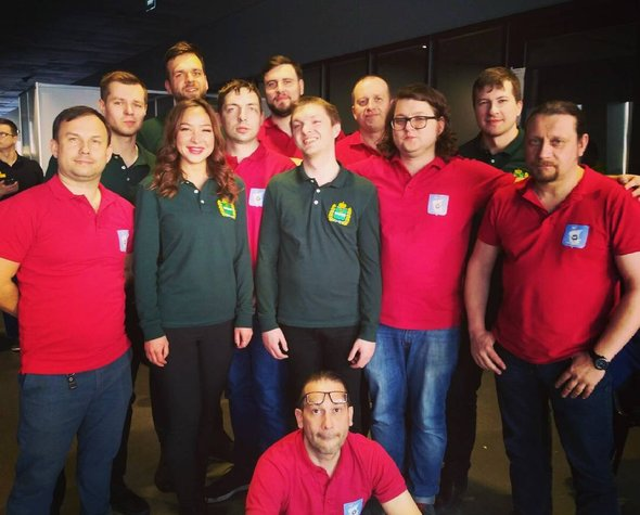 Команды Калининграда и Калуги на Чемпионате России по Брейн-Рингу