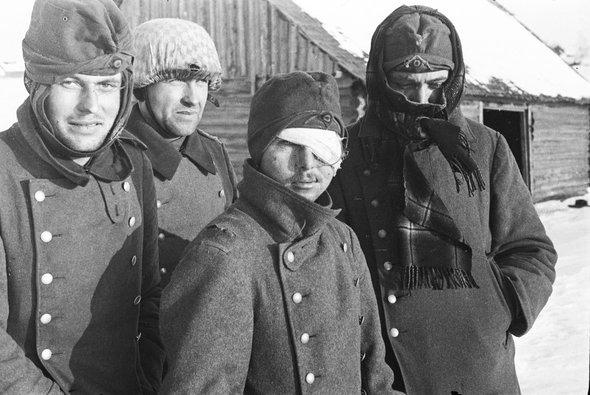 Борис Игнатович / Калининский фронт. Пленные немецкие солдаты / 1942