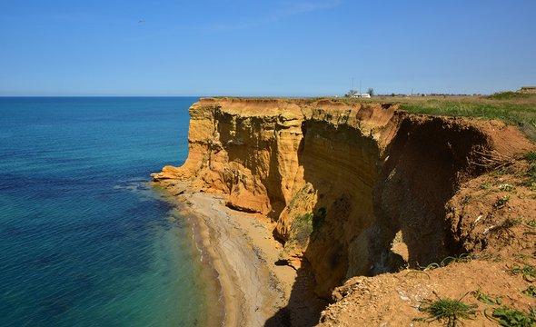 Вид наЧёрное море недалеко отпосёлка Кача. Фото: Shutterstock / Photo_Olivia