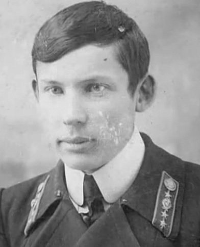 Александр Волков, около 1914 года