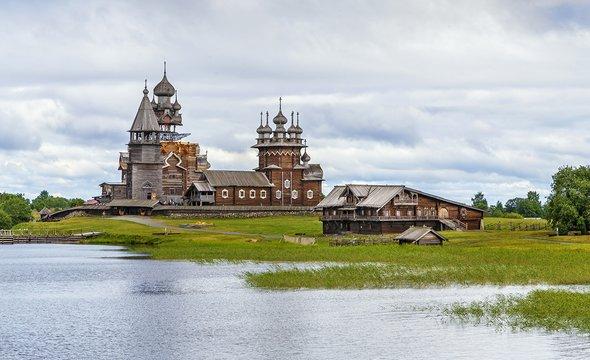 Остров Кижи. Фото: Shutterstock / Borisb17