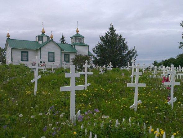 Православная церковь вдеревне Нинильчик