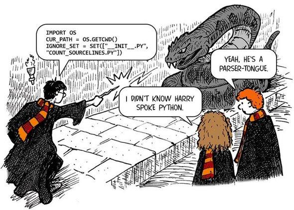 Гарри Поттер и Python