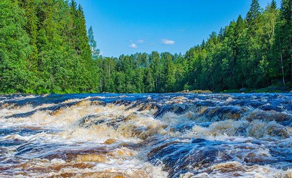 Республика Карелия. РекаШуя. Фото: Shutterstock / Garry64