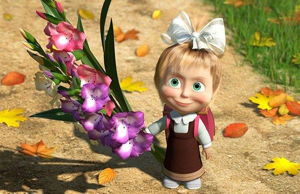 Картинки с 1 сентября цветы