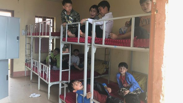 Дормиторий для мальчиков. Провинция Лаокай