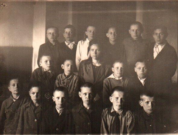 Бабушка поотцу Мамонова Мария Васильевна