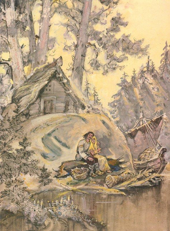 Иллюстрации Леонида Владимирского кпоэме Александра Пушкина «Руслан иЛюдмила»