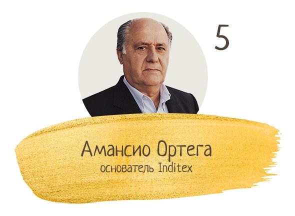Амансио Ортега, основатель Inditex