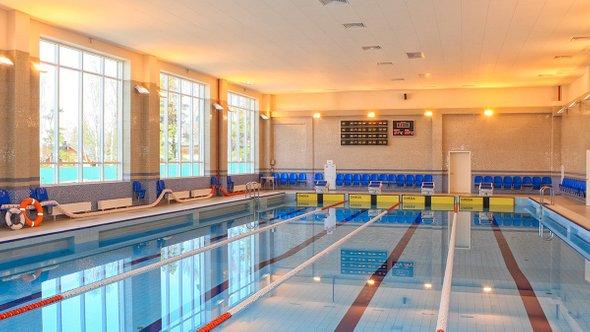 Плавательный бассейн гимназии
