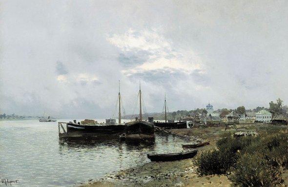 Исаак Левитан. «После дождя. Плёс». 1889 год