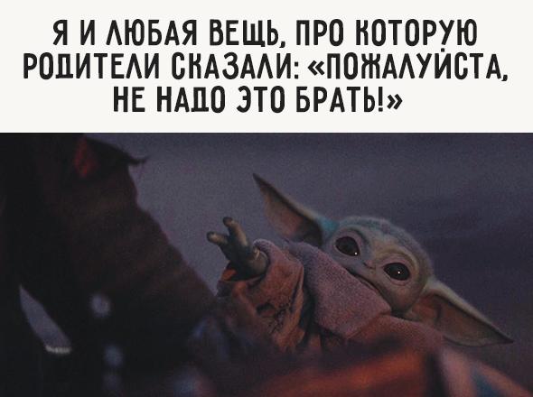 Яилюбая вещь, про которую родители сказали: «Пожалуйста, ненадо это брать!»